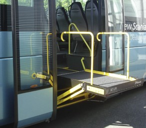 Masat Accessibility Ramp Bus