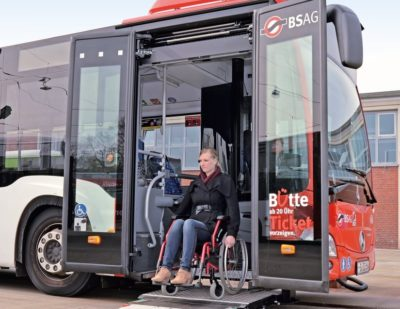 PALFINGER Passenger Systems for Wheelchair Users
