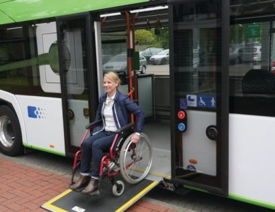 PALFINGER Safe Entry for Wheelchair Users