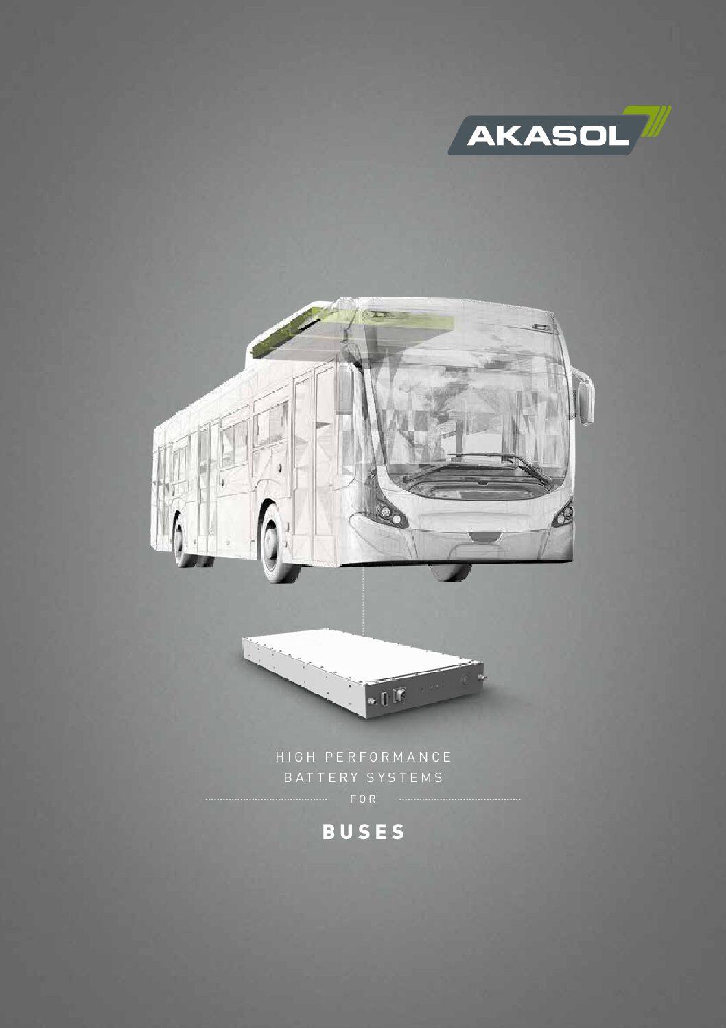 AKASOL Bus Applications
