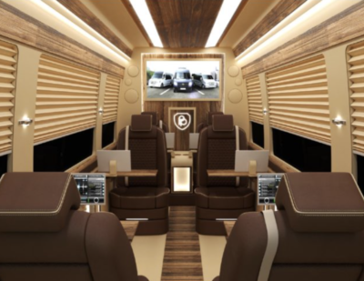 Busprestige luxury sprinter interior