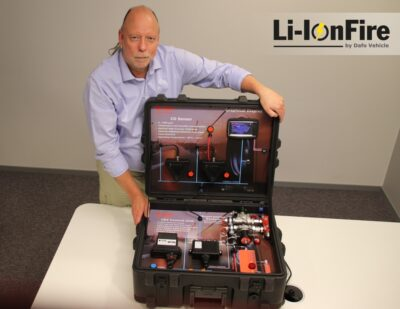 Dafo Vehicle Introducing Li-Ionfire™
