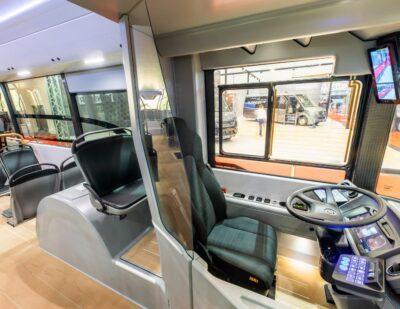 Ebusco 3.0 Drivers Seat