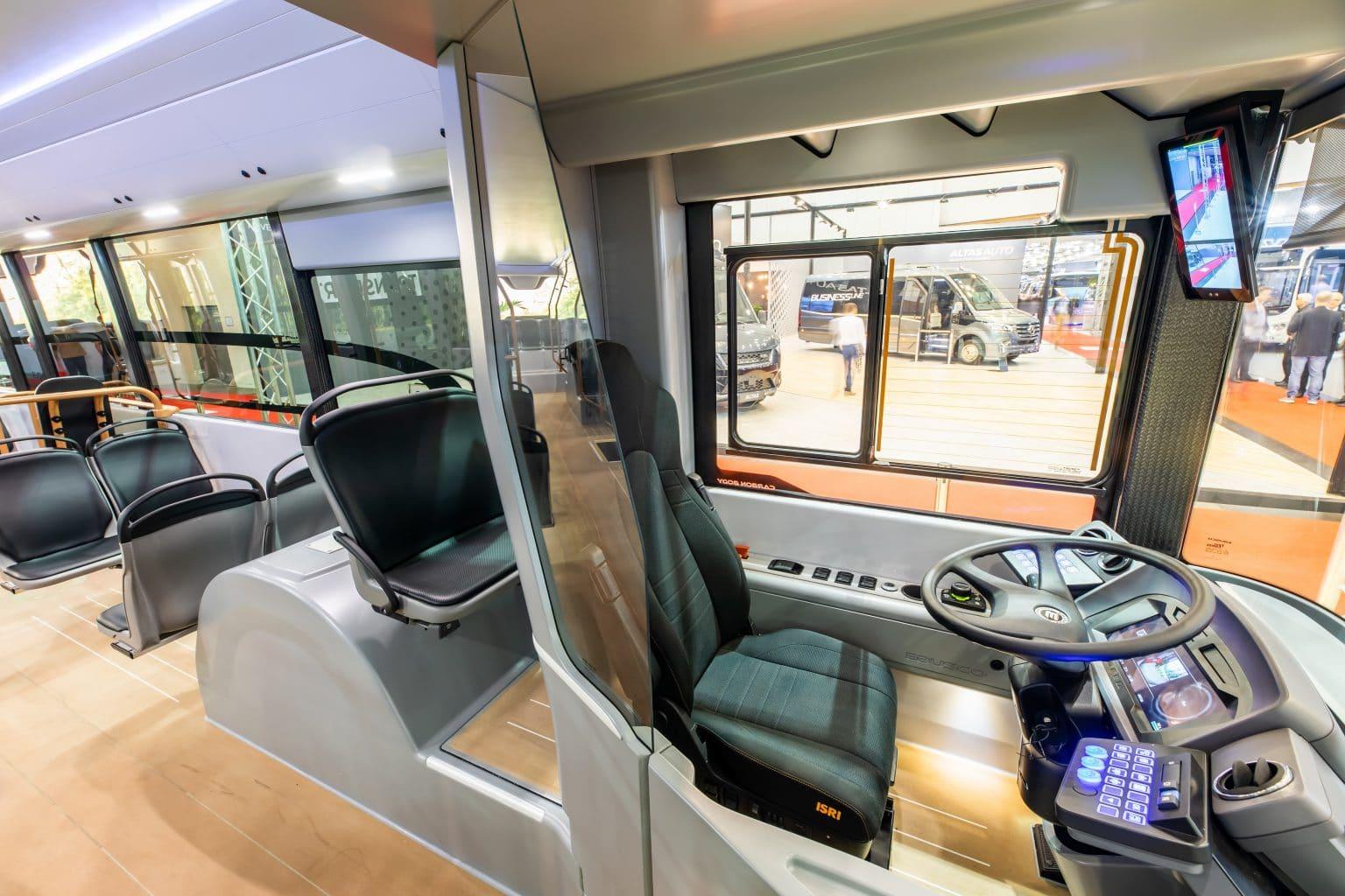 drivers seat design