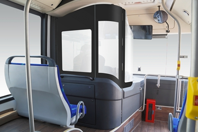 E18 Articulated Electric Bus - 18 Meters Electric BRT - Interior