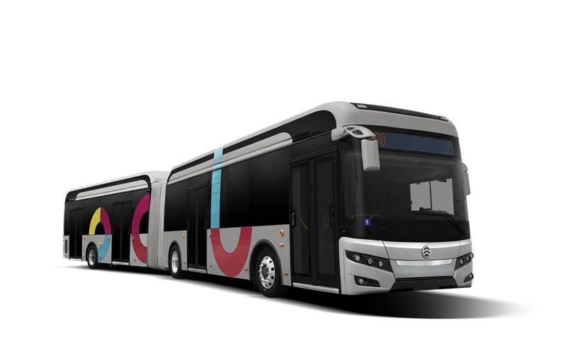 E18 Articulated Electric Bus - 18 Meters Electric BRT