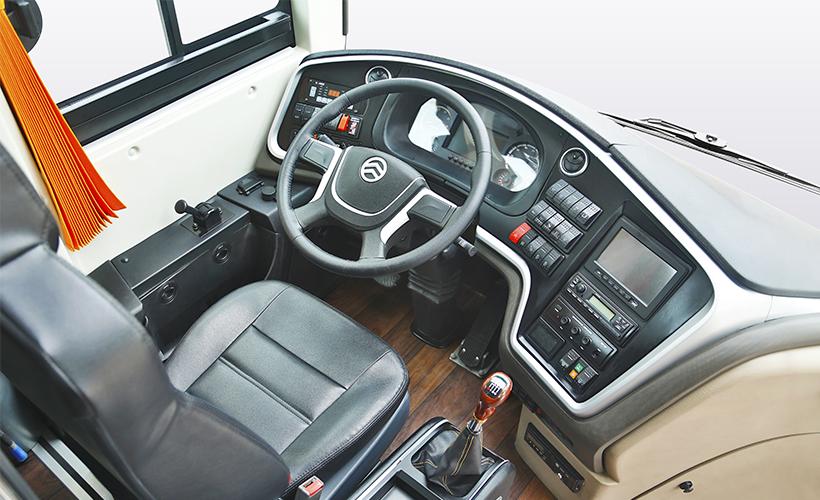 Triumph Series - Double Windshield Luxury Bus - Interior