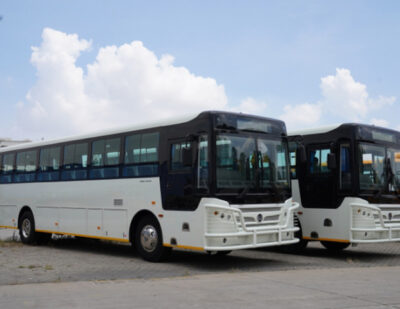 50 Golden Dragon City Buses Arrive in Zimbabwe