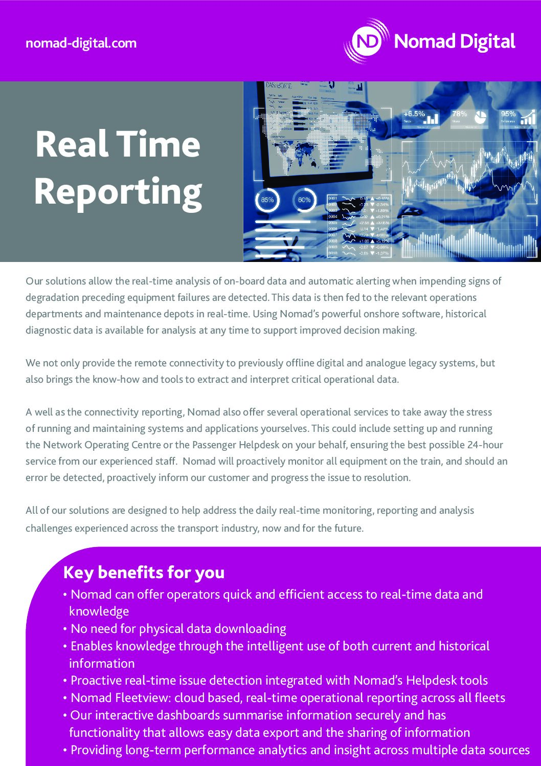Insight Solutions – Real Time Reporting and Management