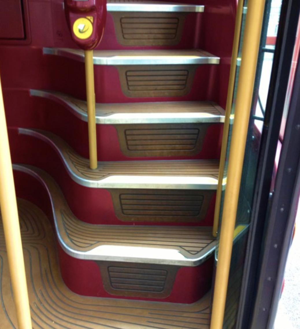Treadmaster Flooring for UK Buses