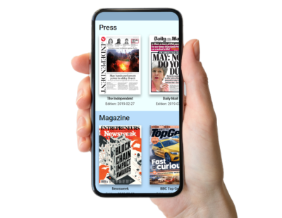 No More Shared Magazines and Newspapers? No Problem!