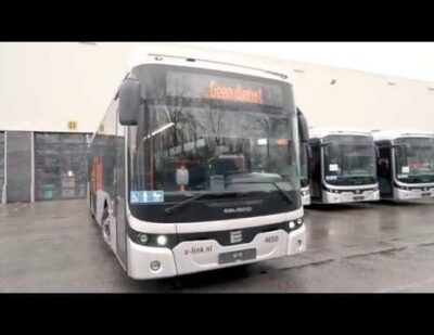 20 Brand New Ebusco 2.2 Electric Intercity Buses in Utrecht