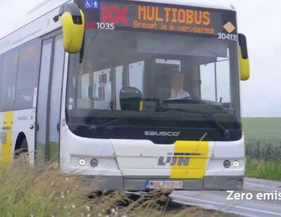 Electric Buses in Belgium from Ebusco & Multiobus