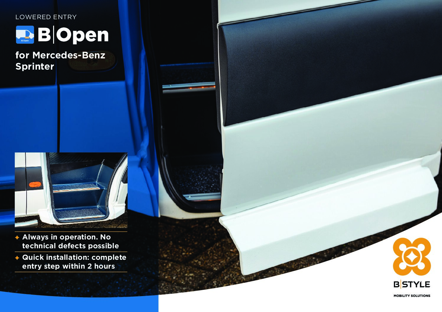 B-Style – B-Open Mercedes-Benz Sprinter