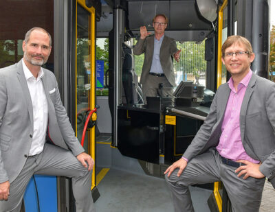 HÜBNER and Kassel Public Transport – New Driver Protection System