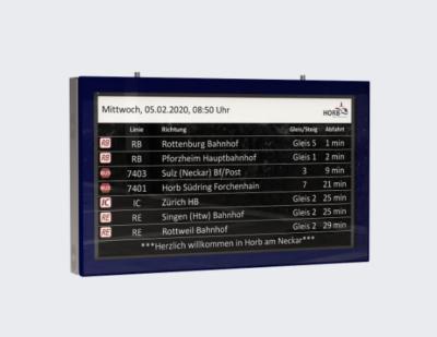 "Luminator LCD Monitor 55"" (E-EF3N-V)"
