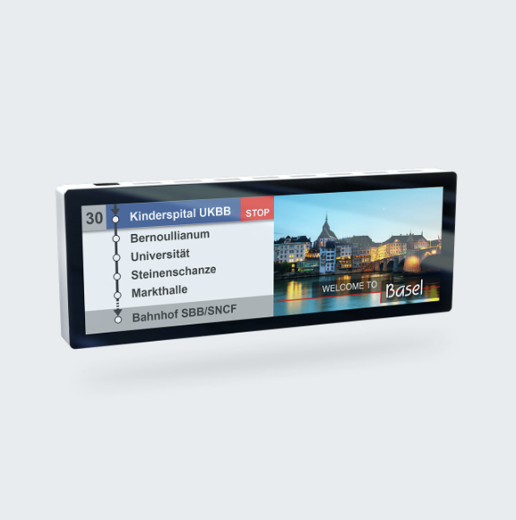 NOBLE 29 Infotainment Display
