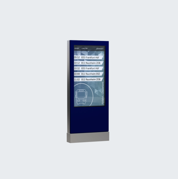 Outdoor Stele 46'' Overview Display
