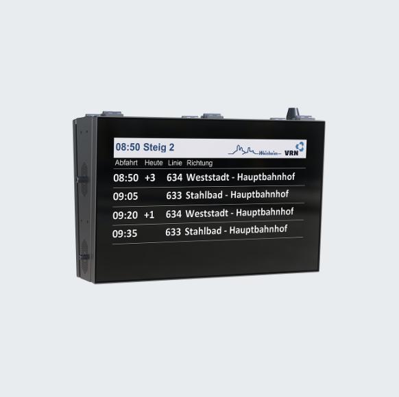 Outdoor TFT-Monitor 32 Platform Display
