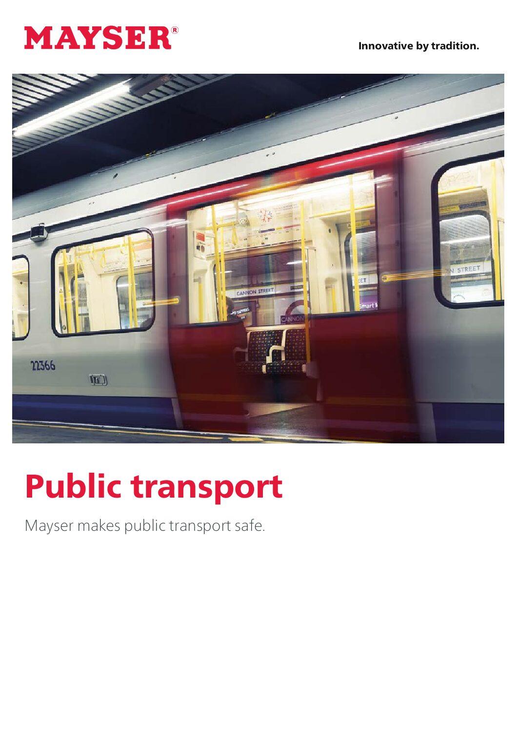 Mayser Public Transport Brochure