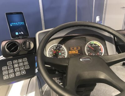 Electric Memory Steering Column Arrives to Bus Market