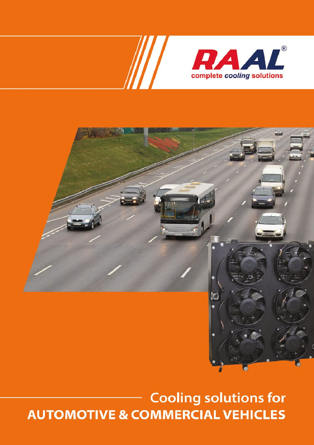 RAAL Cooling Solutions for Commercial Vehicles