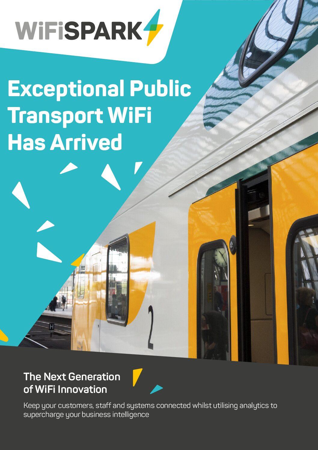 WiFi SPARK Transportation Brochure: Connected Passenger Journey