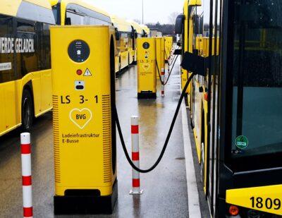 XCHARGE | BVG Berlin C6EU ebus Depot