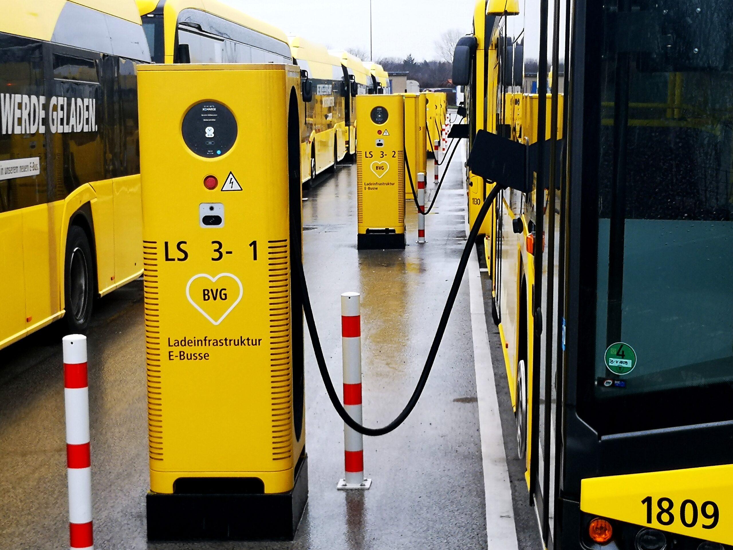 C6EU eBus depot for BVG