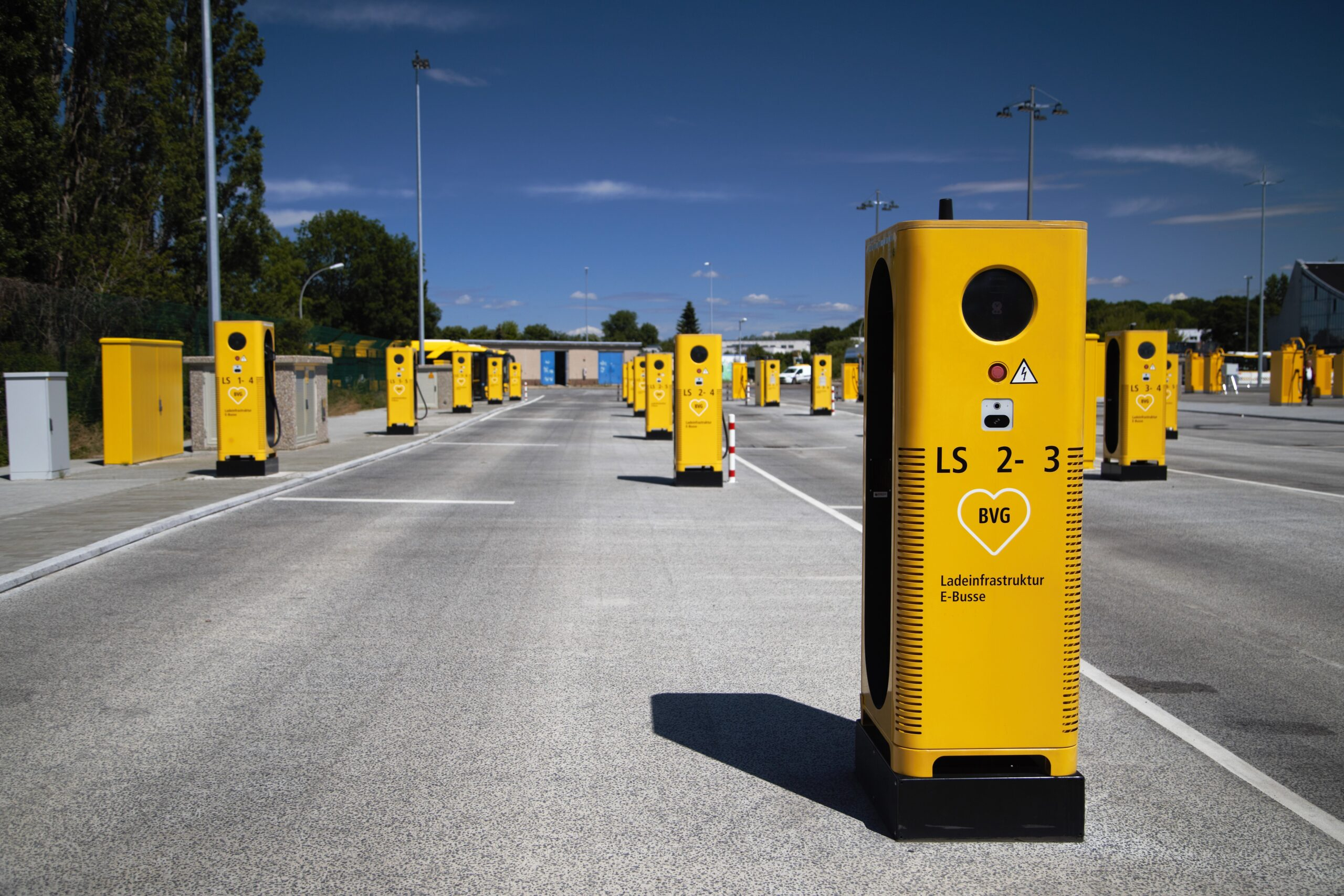 Charging infrastructure for BVG in Berlin
