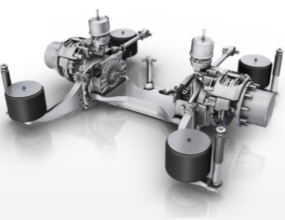 ZF AxTrax AVE – Electric Portal Axle
