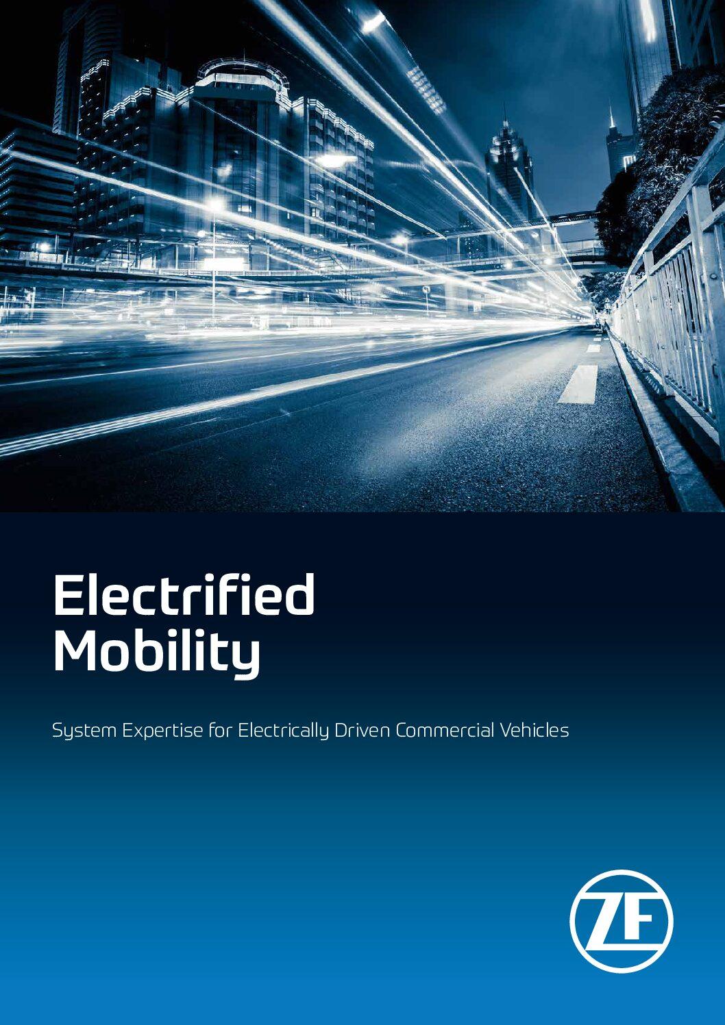ZF Emission-Free Electrified Mobility