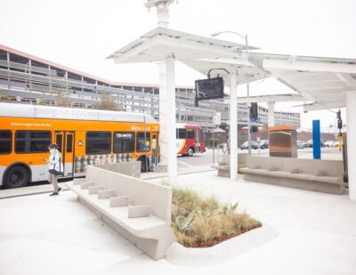 Metro Opens State-of-the-Art Bus Stop Improvement Project