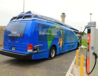 Port Authority NY NJ Doubles Airport Electric Shuttle Bus Fleet