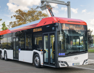 The World Premiere of Solaris Urbino 15 LE Electric