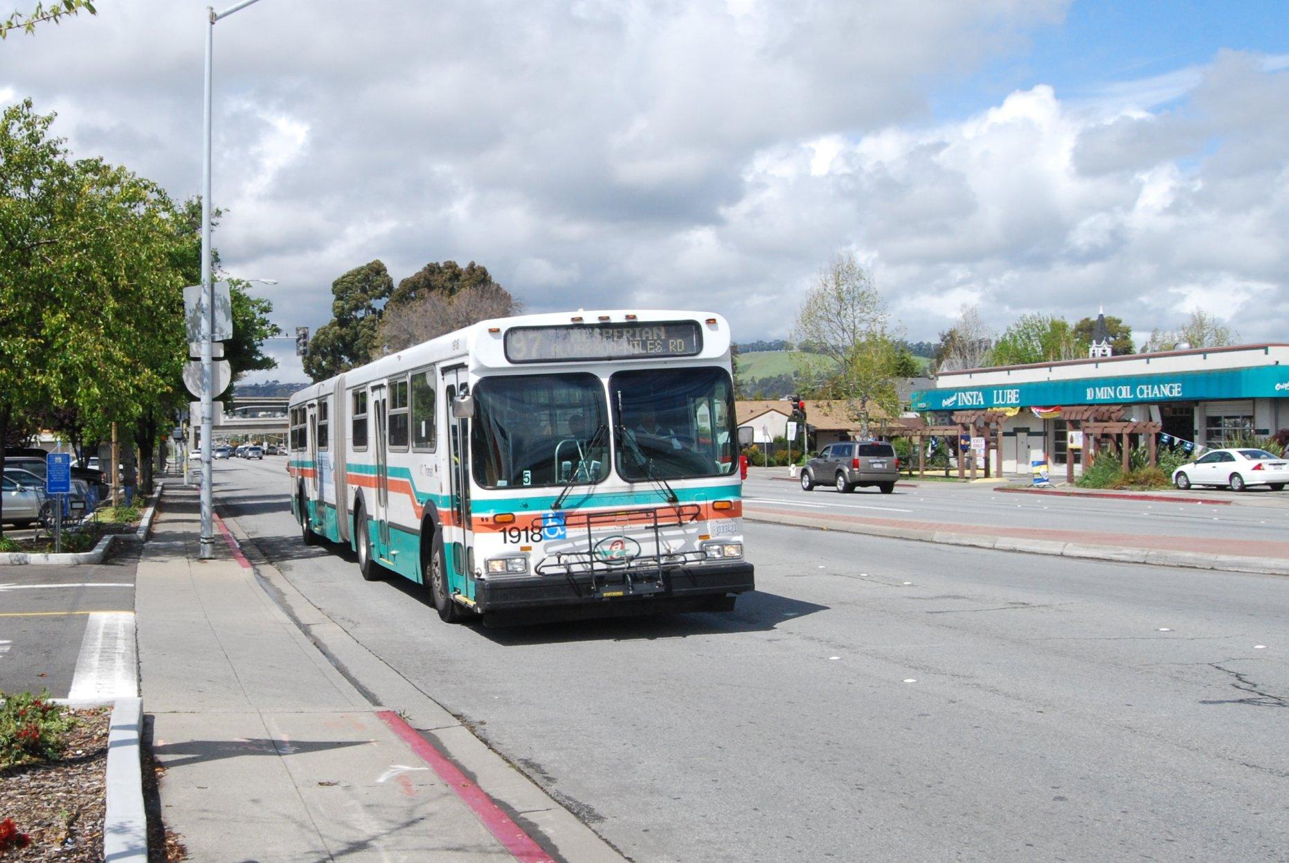 ac transit crowding information rider capacity