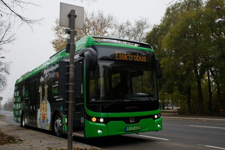 Hungary green bus program Ebusco 2.2