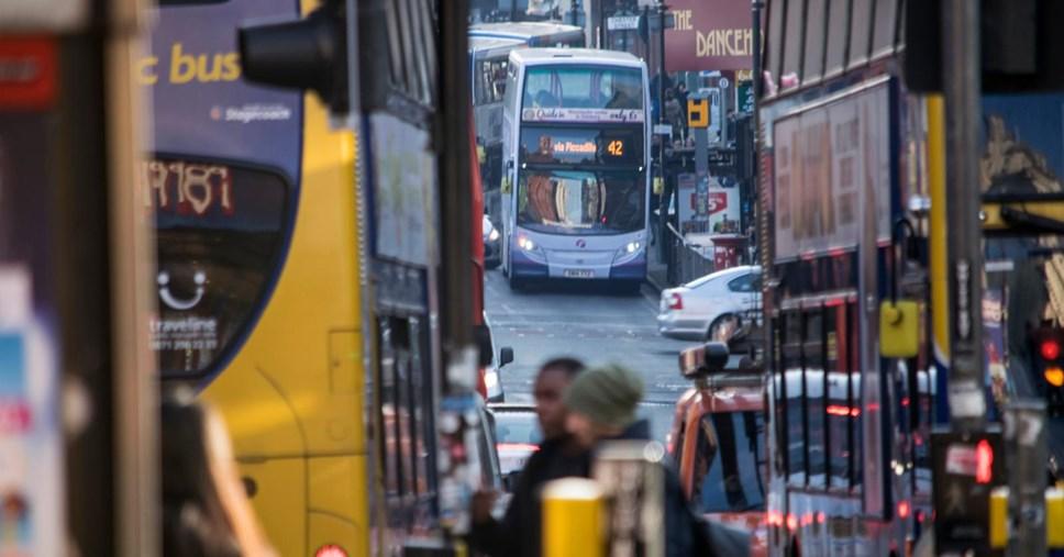 greater Manchester bus reform franchising sheme