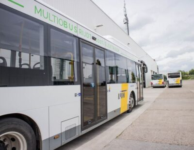 Heliox Enters Belgium, Powers 12 E-buses for Multiobus