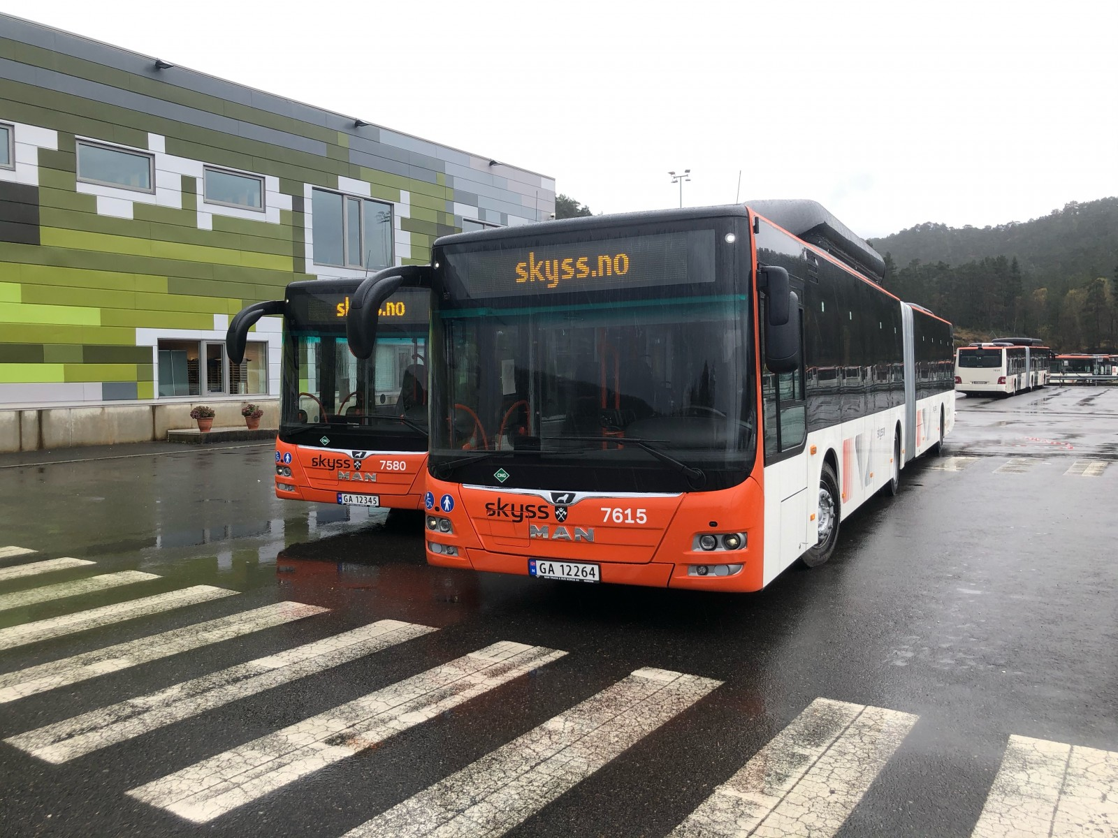 Man City Buses for bergen Biogas Drive Systems