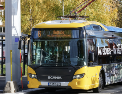 Östersund Expands Electric Bus Operations with Scania Citywide
