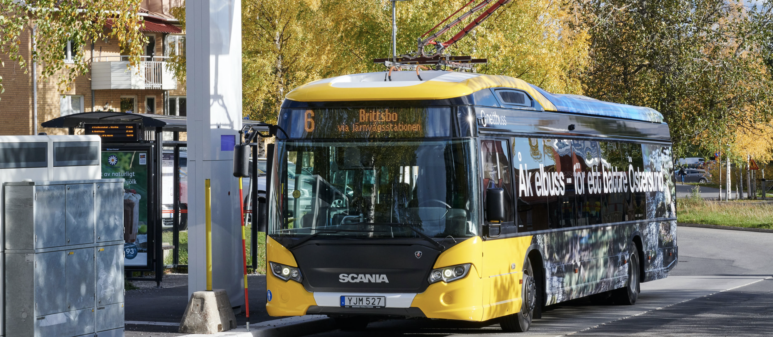 Östersund Expands Electric Bus Operations Scania