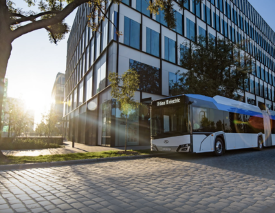 Solaris Receives Global E-mobility Leader Award