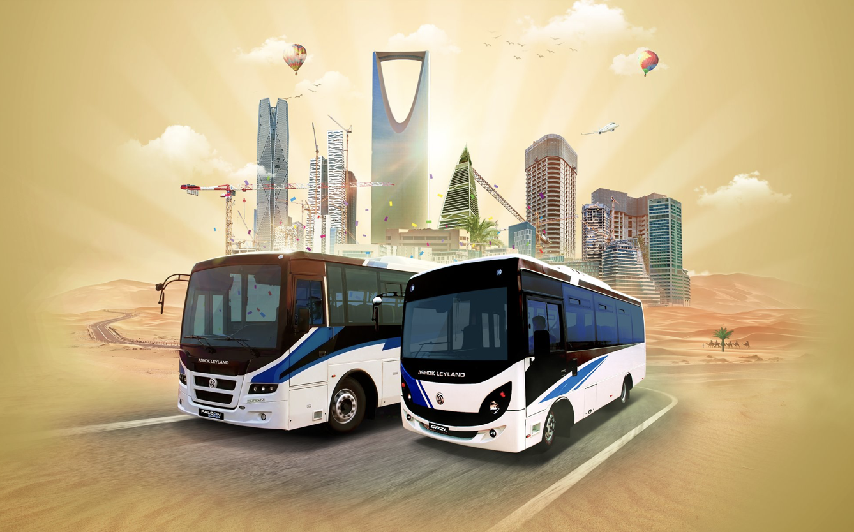 ashok leyland ksa smart solutions passenger buses
