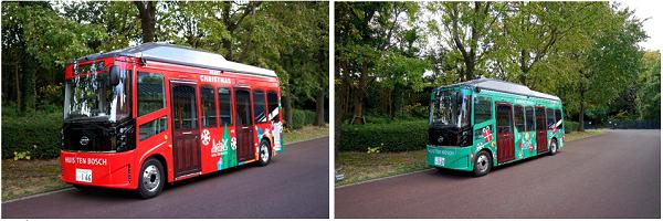 Huis Ten Bosch electric buses byd japan