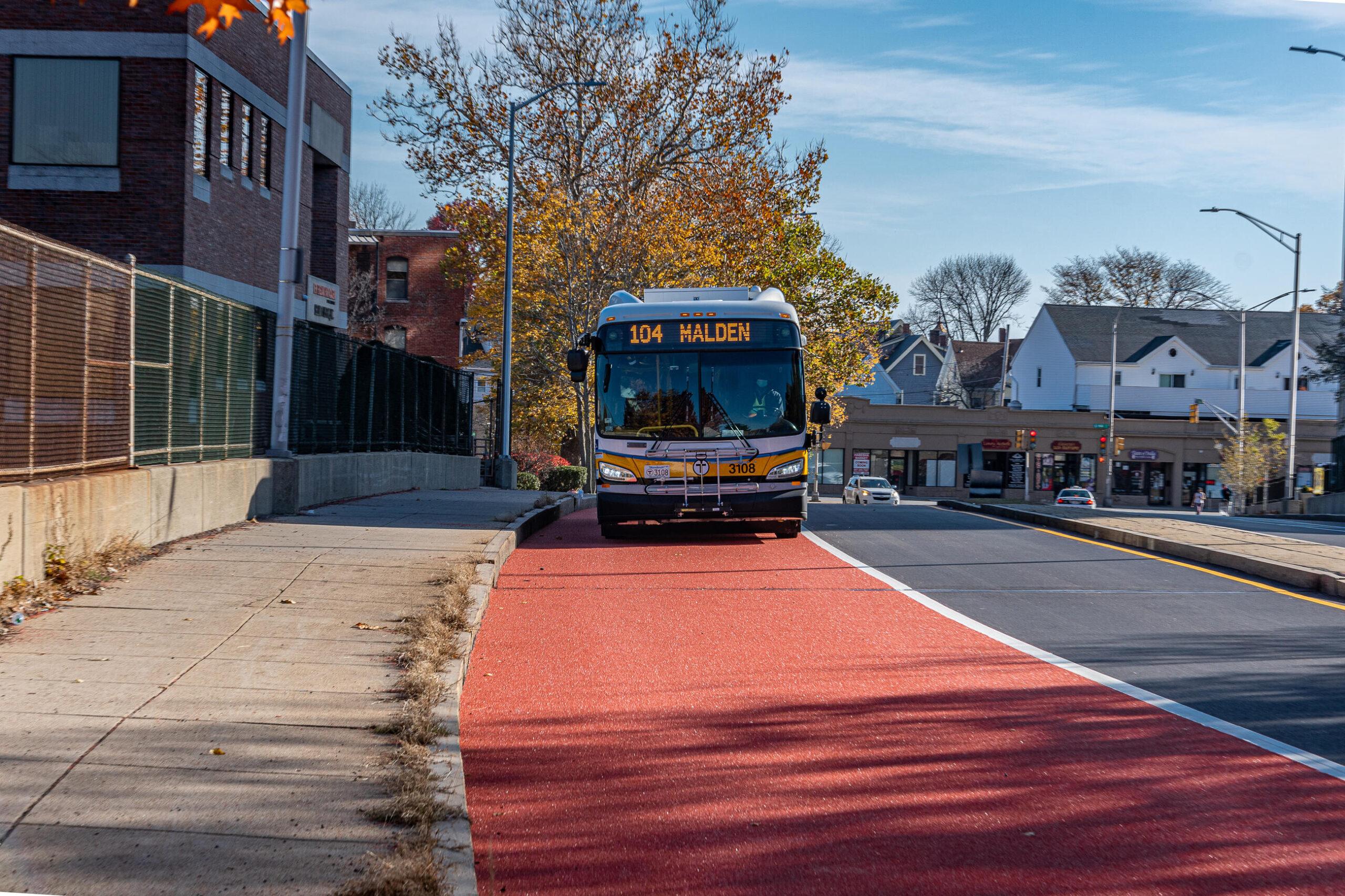 malden bus lanes