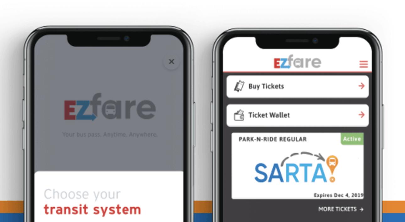 EZfare mobile ticketing app reviews