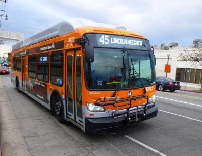 L.A. Metro to Begin Implementing NextGen Bus Plan