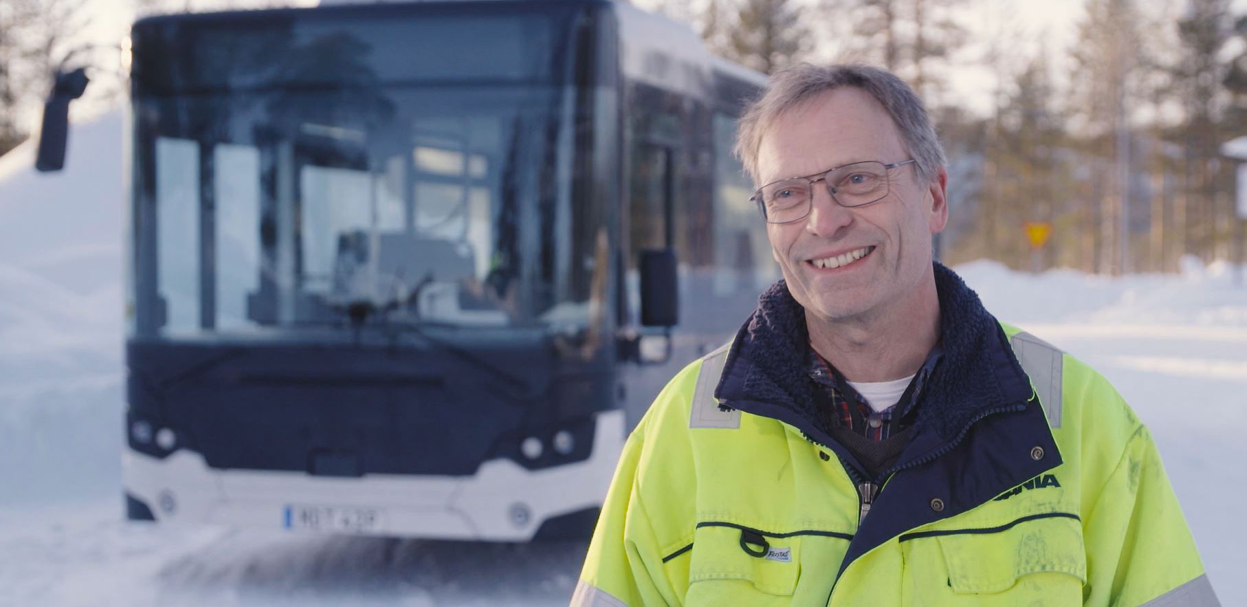 Scania Citywide temperatures