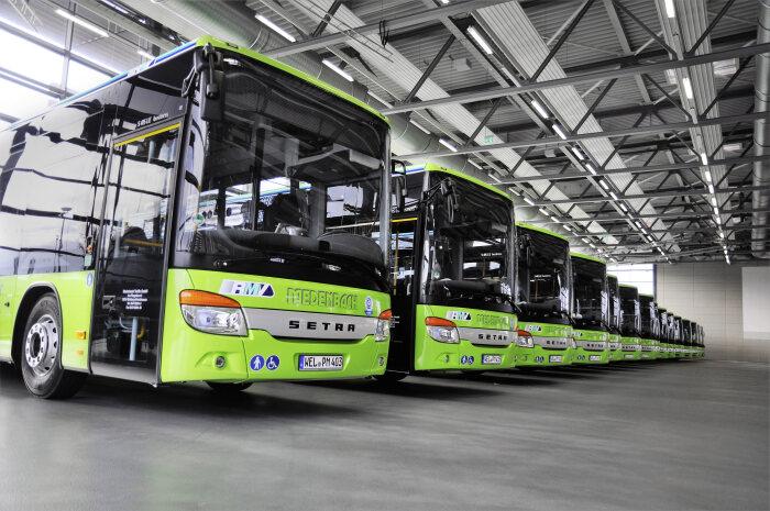 setra buses Saxony hessen
